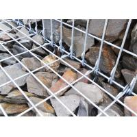Galvanized Wire Mesh Stone Retaining Wall 3.0 - 6.0 Mm Wire Diameter Manufactures