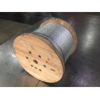 Galvanized Steel Wire Strand For Guy Wire / Stay Wire / Overhead Transmission Line Manufactures