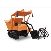 China Agriculture Farm Equipment Mini Crawler Dumper small carrier Hydrostatic Transmission for sale