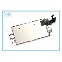 White LCD Display iphone 5s screen replacement with Home Button Super AMOLED HD Manufactures