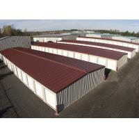 Agricultural Steel Frame Buildings / Prefab Storage Buildings For Personal Rent Manufactures