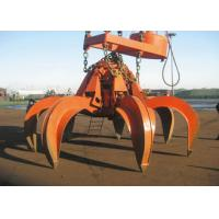 Mechanical Clamshell Grab Bucket Steels Four Wirerope For Crane Excavator Manufactures