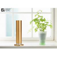 200m³ Aluminum Alloy Desktop Scent Diffuser Machine Cylindrical Design In Gold Color Manufactures