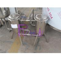 Stainless Steel 200 Mesh Bottle Juice Double Filter For Beverage Making Machine Manufactures