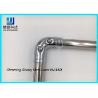 Flexpipe Creform ESD Pipe Rack System Chrome Pipe Connectors Elbow Metal Joint Manufactures
