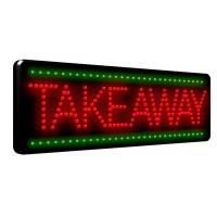 560x330mm colorful led advertising sign Manufactures