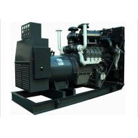 Open Diesel Generator Emergency Power Supply 275KVA / 220KW Coupled With Stamford Alternator Manufactures