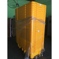 Four Drum Spill Containment Pallets , HDPE Oil Drum Containment Pallet Stackable Manufactures