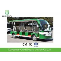 Buy cheap CE Approved Open Top Sightseeing Car 72V AC System 15 Passenger Mini Bus 4 Wheel from wholesalers