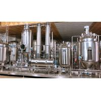 Concentration Herb Extraction Equipment Production Line For Black Pepper Sunflower Sesame Manufactures