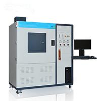 NBS Plastic Vertical Flammability Chamber ZY6166D - PC Smoke Density Test Box Manufactures
