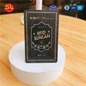 China Super quality HF UHF Dual Frequency RFID pvc Card on sale