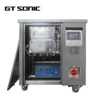 China Stainless Steel Industrial Ultrasonic Cleaner PLC Control For Fuel Injector on sale