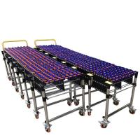 Customizable Gravity Flexible ABS Plastic Roller Conveyor Customized Size