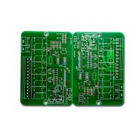 2 Layer PCB Prototype Board , Printed Circuit Board Manufacturers Green Solder Mask Manufactures