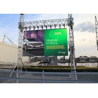 Quality Interior Led Large Screen Display , Led Backdrop Screen Rental No Mosaic for sale