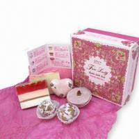 Bath Gift Set with Bath Fizzles and Natural Soaps, OEM Orders are Welcome Manufactures