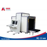 Quality Long Life Airport Security Baggage Scanners / X Ray Airport Scanner 35mm Steel Penetration for sale