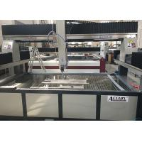 High Speed 3 Axis Granite Water Jet Cutting Machine CNC Controlled 4000 X 2000mm Manufactures