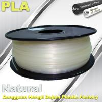 Smooth PLA Transparent Filament 1.75mm /  3.0mm 3D Printing Filament Manufactures