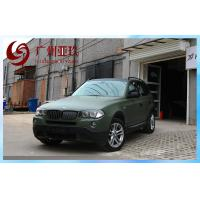 China Army Green Matte Vinyl Car Wrap For Car Body Stickers With Air Free Bubbles on sale