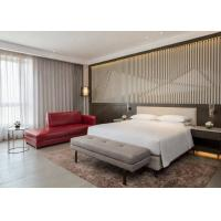 Modern Hotel Suite Furniture Set With Fabric / PU / leather Sofa Manufactures