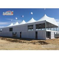 Special Design Aluminum High Peak Double Deckers Canopy Tent for Outdoor Event Manufactures