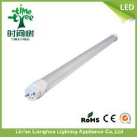 High Efficiency 10W SMD 2835 2 Foot T8 LED Tube with Aluminum Cover Manufactures