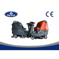 Maximal Model Floor Washers Scrubbers Machine , Double Brush Hard Floor Cleaner Machine Manufactures