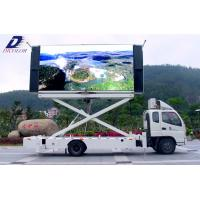 High Brightness PH12.8mm 1 / 4 Scan 1R1G1B 6104dot/m2 Truck Mounted LED Mobile Displays Manufactures