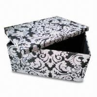Paper Woven Storage with Fashion Design printing, OEM Orders are Available Manufactures