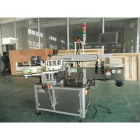 High Precision Flat Bottle Two labels Automatic Labeling Machine Manufactures
