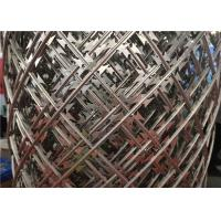 Hot - Dipped Galvanized Welded Razor Wire Mesh Fence , Razor Wire Bunnings Manufactures