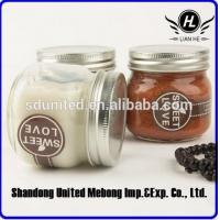 High quality  250ml glass mason jar with metal lid Manufactures