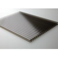 China 8mm Light Weight Twinwall Polycarbonate Sheets10 year warranty on sale