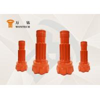 Orange Tungsten Carbide DTH Hammer Bits Drilling For Underground Blastholes Manufactures