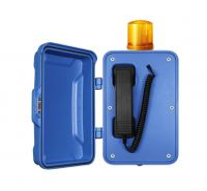 Railway Platform Industrial Weatherproof Telephone 2 Years Warranty Manufactures