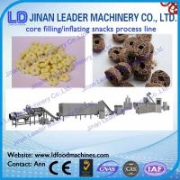 Core snacks food processing line core filling food processing line Manufactures