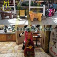 Hansel Coin Operated Plush Motorized Animal Scooter Electric Animal Toy Car Kids Ride In Mall Manufactures