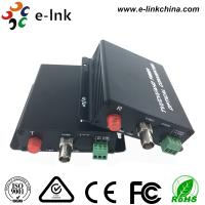 1-Ch HD-AHD/CVI/TVI/CVBS Over Fiber Converter (720P, 960P ), 20km, single mode single fiber, FC Manufactures