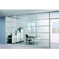 Interior Smart Office Room Partition Glass Wall Fire - Resistant Self - Cleaning Manufactures