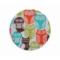 Promotional Fabric Round Mouse Pad, Sublimation Rubber Mouse Mat Manufactures