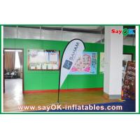 China Advertsing Teardrop Flag Feather Customized With Logo Printing H 2.5m on sale
