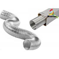 Silvery Flexible Air Conditioner Flexible Duct Stretchable For Air Conditioner Installation Manufactures