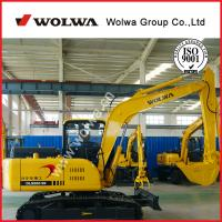Mini excavator wolwa 8ton 0.3m3 cheap Hydraulic Crawler  Mini Excavator Manufactures