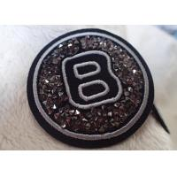 Iron Handmade Imitation Diamond Patches For Equestrian Clothing Manufactures