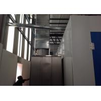 China Turbo Fan Spray Painting Room Furniture Paint Booth Water Curtain Color Optional on sale