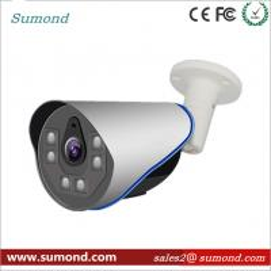New CCTV HD IP Camera Metal IR Bullet Home Security Camera 1080P POE IP Camera