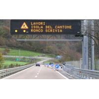 Variable Message Led Traffic Signs Standard Highway Sign For Environmental Manufactures