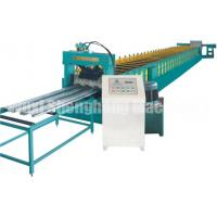 China High Crest Floor Deck Roll Forming Machine For Making Floor Bearing Plate on sale